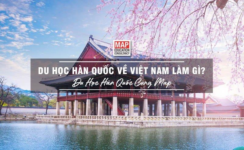 Du Học Hàn Quốc Về Việt Nam Làm Gì?
