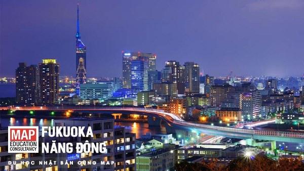 Fukuoka năng động - Cánh cửa kết nối xứ sở hoa anh đào với thế giới