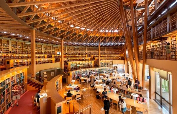 Thư viện của trường được đánh giá là một trong những thư viện hàng đầu