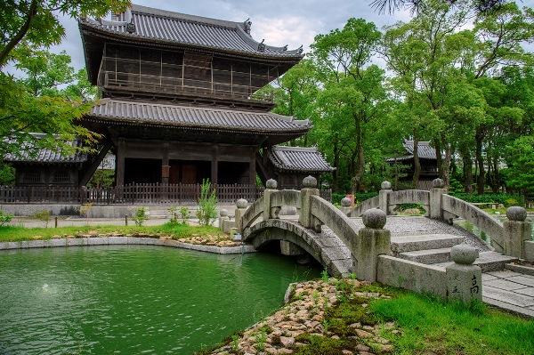 Chùa Shokufuji với lối kiến trúc Nhật cổ xưa
