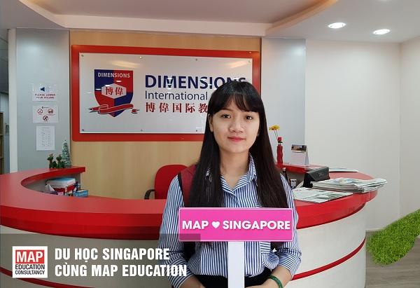 Du học cấp 2 tại Singapore trường Cao đẳng Quốc tế Dimensions