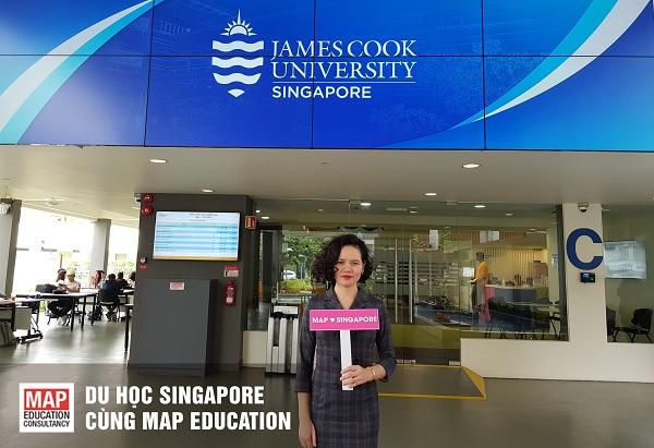 Du học cấp 3 tại Singapore trường Đại học James Cook
