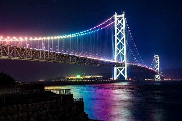 Cùng khám phá Akashi Kaikyo - Cây cầu treo dài nhất thế giới, khi du học ở Kobe
