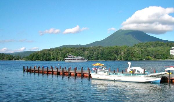 Du học ở Hokkaido - Hồ Akan