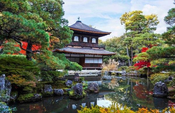 Ginkaku-ji cũng là địa điểm nên tham quan một lần khi du học ở Kyoto