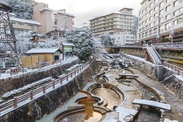 Hãy một lần trải nghiệm suối nước nóng Arima nhé!
