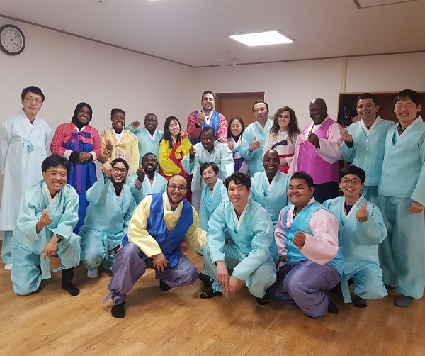 Chương trình trải nghiệm văn hoá Hàn Quốc tại KINGS