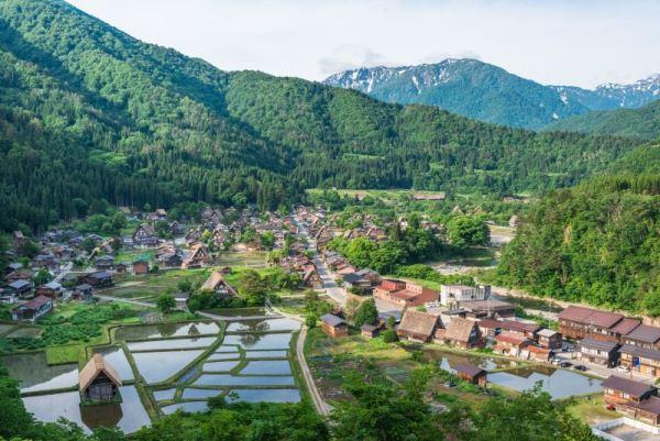 Sinh viên cũng có thể tham quan làng Shirakawa