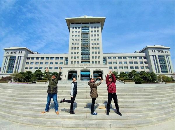Học xá chính tại SunHak Universal Peace Graduate University SunHakUP