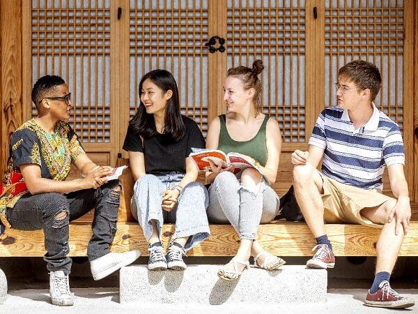 Sinh viên quốc tế tại trường ĐH Nghiên cứu Hàn Quốc GSKS