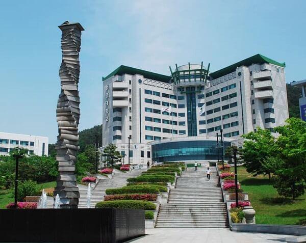 Biểu tượng của trường Tongmyong Hàn Quốc