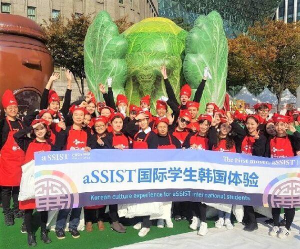 Lớp trải nghiệm văn hoá Hàn Quốc dành cho sinh viên quốc tế