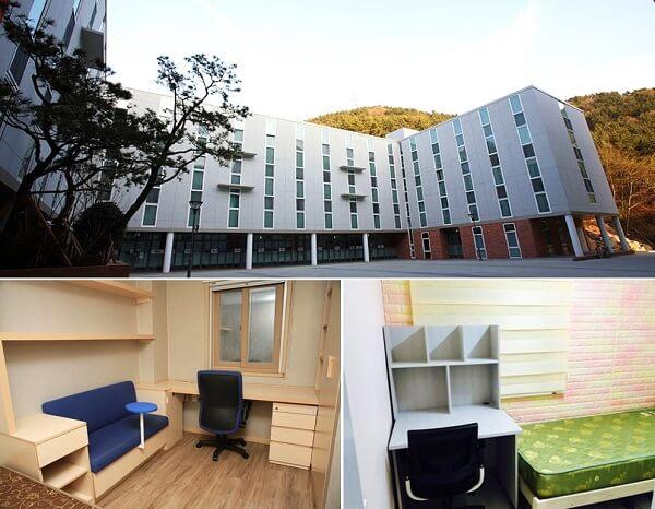 Ký túc xá hiện đại tại Đại học Youngsan YSU