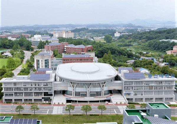 Hội trường thể thao tại Dongshin University