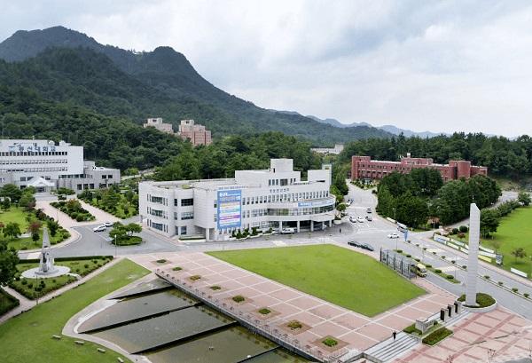 Khuôn viên trường ĐH Dongshin