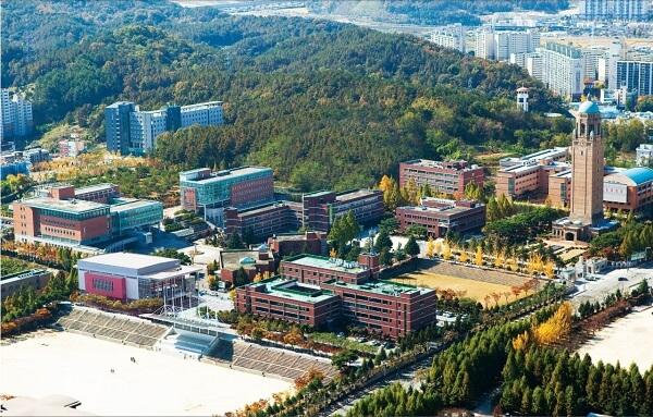 Toàn cảnh viện KHCN Daejeon