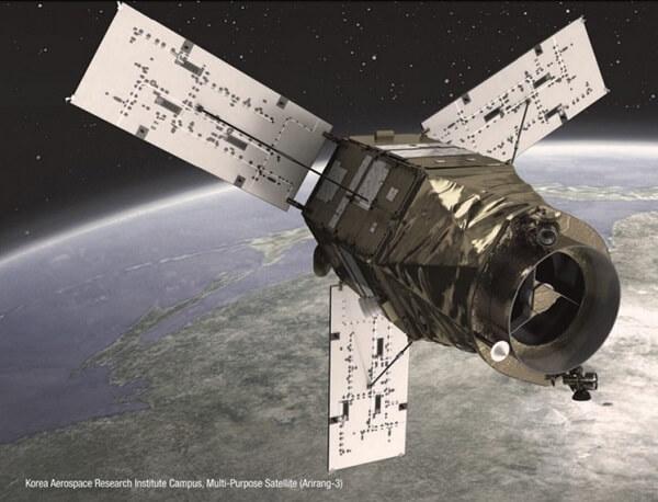 Vệ tinh Arirang 3 - thành quả nghiên cứu và chế tạo của UST