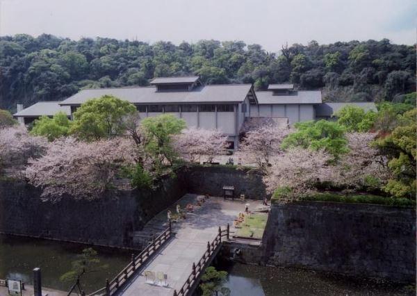 Những gì còn lại của lâu đài Kagoshima