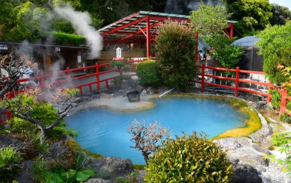 Suối nước nóng tại Beppu