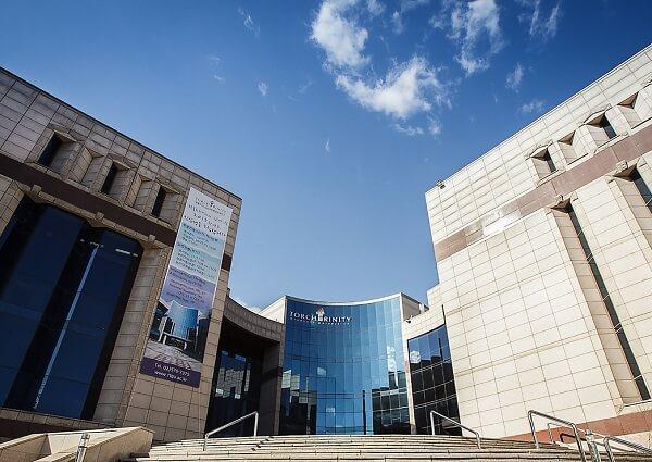 Học xá chính tại đại học Torch Trinity Hàn Quốc