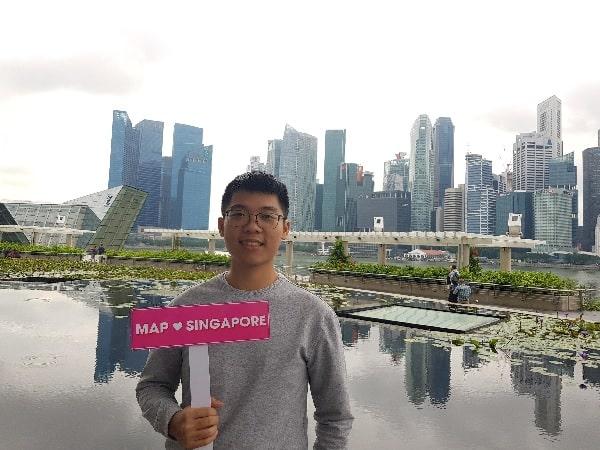 Bạn Tuấn Khải - Du học sinh tại Singapore của MAP