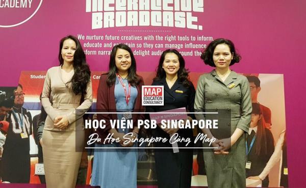 Cùng MAP du học Singapore trung học phổ thông tại học viện PSB