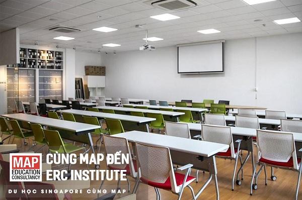 Cùng MAP du học tại học viện ERC
