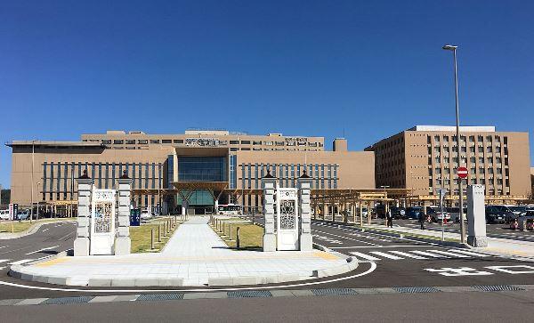 Khu bệnh viện trường đại học Kanazawa