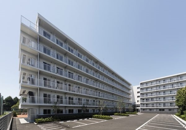 Ooka - Một khu ký túc xá trường đại học Quốc gia Yokohama Nhật Bản