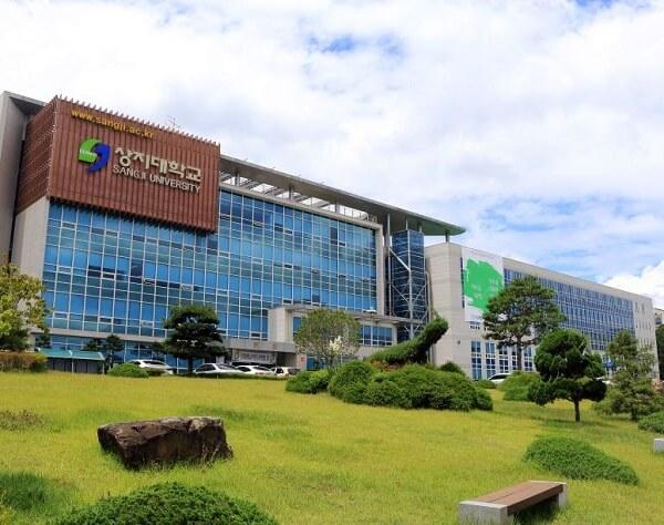 Học xá chính tại trường Đại Học Sangji Hàn Quốc