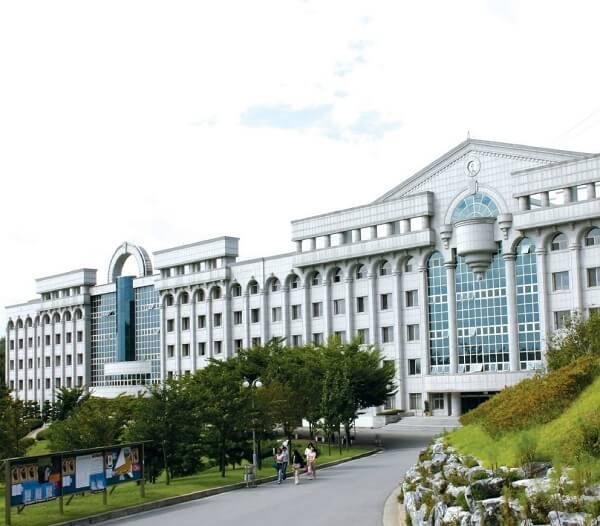 Học xá chính tại trường đại học Ansan Hàn Quốc