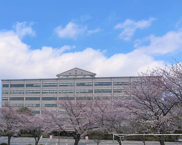 Học xá chính tại trường đại học Hanlyo Hàn Quốc