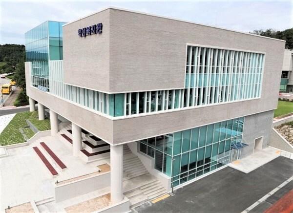 Kiến trúc hiện đại tại trường Bách khoa Hallym