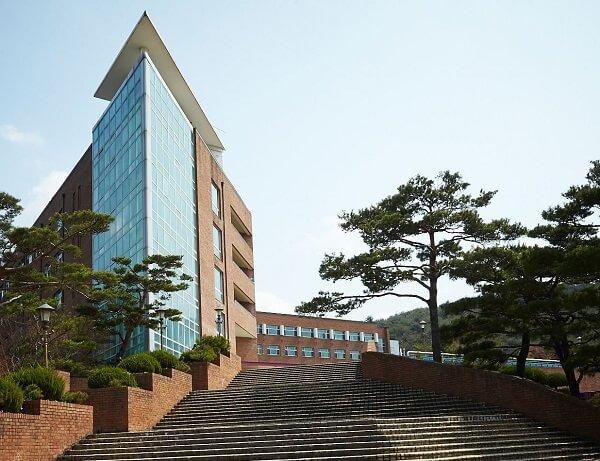 Một góc khuôn viên Gyeongju University