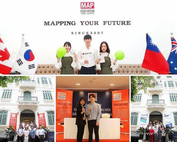 Sinh viên MAP được học cùng giáo viên bản xứ và gặp gỡ đại diện các Đại học ở Hàn Quốc