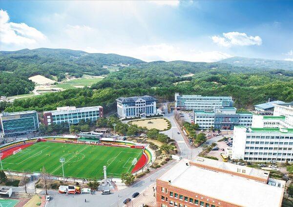 Toàn cảnh trường Cao đẳng Khoa học Andong