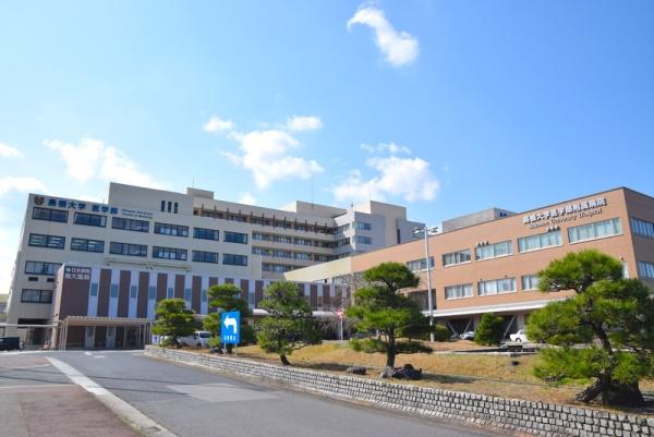Khu bệnh viện hiện đại thuộc trường đại học Shimane