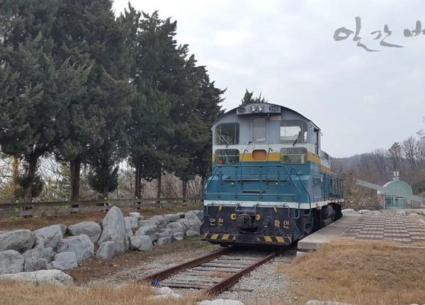 Khu đường tàu phục vụ công tác thực hành của sinh viên Khoa Đường sắt
