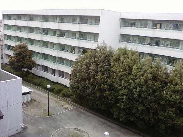 Một khu ký túc xá trường đại học Saitama Nhật Bản