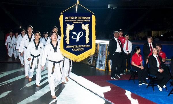 Sinh viên trường đại học Yong In thi đấu tại thế vận hội Olympic