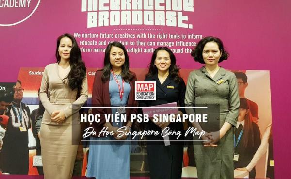 Tham gia du học Singapore ngắn hạn tại học viện PSB