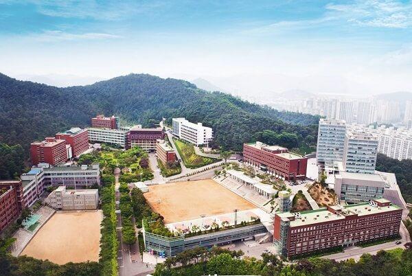 Toàn cảnh trường ĐH Yeonsung