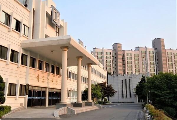 Học xá chính tại trường đại học Calvin Hàn Quốc