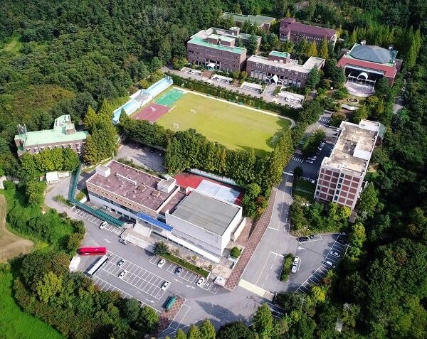 Toàn cảnh trường đại học Hanil Hàn Quốc