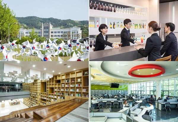 Cơ sở vật chất hiện đại tại Doowon Technical University