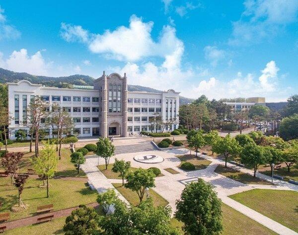 Học xá chính tại trường đại học Kỹ thuật Doowon Hàn Quốc