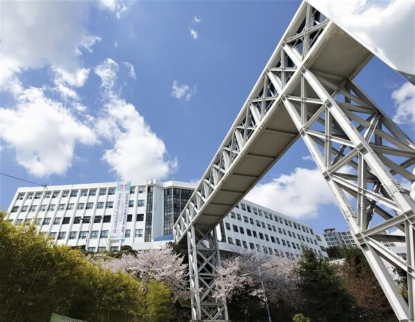Kiến trúc hiện đại tại Busan Institute of Science and Technology