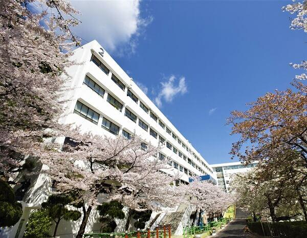 Học xá trường Khoa học và Công nghệ Busan đẹp nên thơ vào mùa xuân