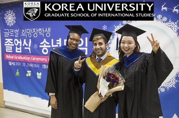 Sinh viên quốc tế tốt nghiệp bậc Cao học trường Đại học Korea
