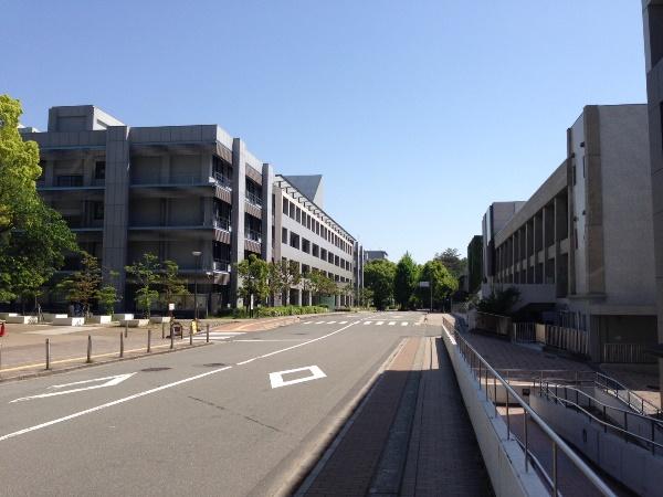 Các khu học xá trong cơ sở Toyonaka thuộc Osaka University of Foreign Studies